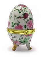 Шкатулка яйцо (7,5х5х5 см)