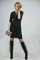 Эффектное платье-туника из мягкой вискозы