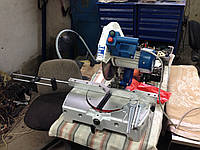 Станок пила режущая поворотная с наклоном из Италии , модель TPV 300 новый