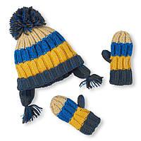 Шапка с перчатками Украина 12-24