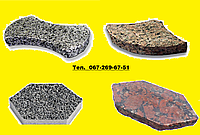 Тротуарная плитка из натурального камня.