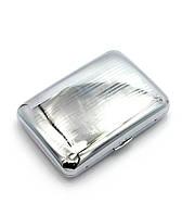 Портсигар металл (9,5х8х2 см)(C910a)