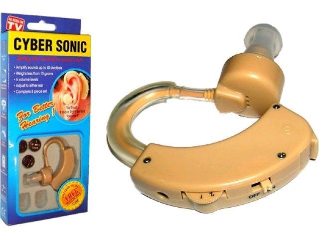 Слуховий апарат Cyber sonic, для поліпшення слуху