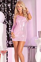 Платье Glitterati sequin dress pink, S/М, М/L