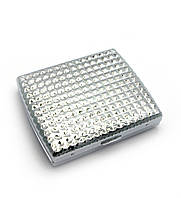 Портсигар металл (9,5х8х2 см)(C611A)