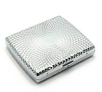 Портсигар металл (9,5х8х2 см)(C611b)