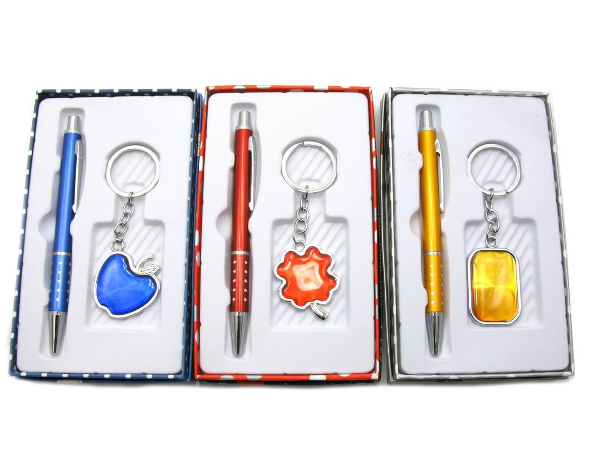 Ручка с брелоком набор (17х10х3 см)(MH603)