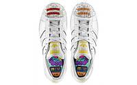 Кроссовки женские Adidas Adidas Superstar Pharrell Supershell White (в стиле адидас) белные
