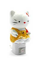 """Аромалампа-ночник электро """"Hello Kitty"""" (13,5х8х8 см)(128)"""