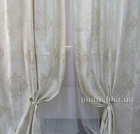 Портьера Жаккард Arya 82033 V10 высота - 270 см, ширина - 150 см