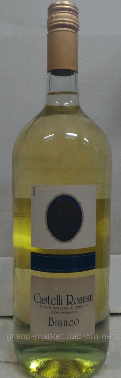 "Вино біле ""Сastelli Romani Bianco DOC"" 1,5 l"
