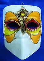 Маска карнавальная Венецианская папье-маше (16,5см)