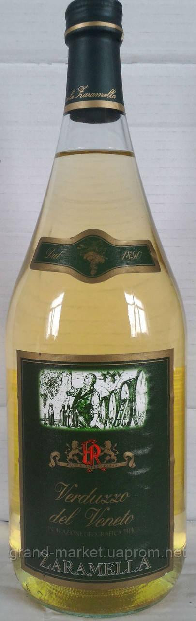 Вино Zaramella Verduzzo del Veneto IGT, 1.5 l