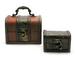 Сундучки набор 2 шт (12х8,5х9 см 8х6х6 см)(CA-816 2/S)