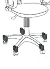 Схема заглушек, где и как расположены заглушки для ролика.