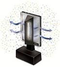 Комнатный очиститель воздуха Spectrum UVX, фото 3