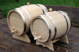 Дубовые бочки для вина и коньяка (нержавейка)