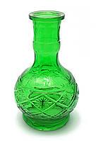 Колба для кальяна стекло (25х13х13 см)(P043)(внутренний d-4,5 см)