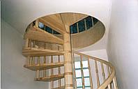 Лестница винтовая ясень, фото 1