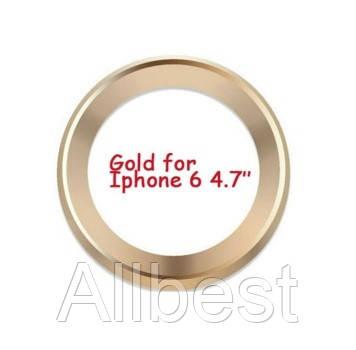 Защита для внешней камеры для Iphone6\6S Gold
