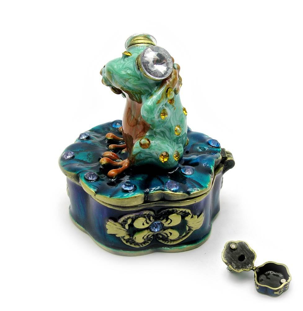 """Шкатулка """"Лягушка """" (7,5х6,5х5 см)(KSD 11859)"""
