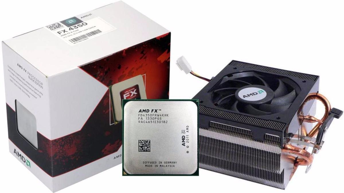 Процессор AMD FX-4350 X4 4.2GHz s.AM3+ Б/У