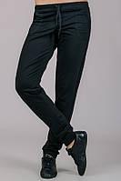 Трикотажные брюки женские Гольфстрим (черные)
