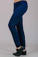Женские трикотажные штаны Гольфстрим (темно-синие)
