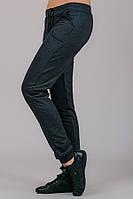 Трикотажные штаны женские Гольфстрим (темно-серый)