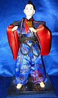 "Кукла Самурай фарфор (12"")(28,5х13х13 см)"