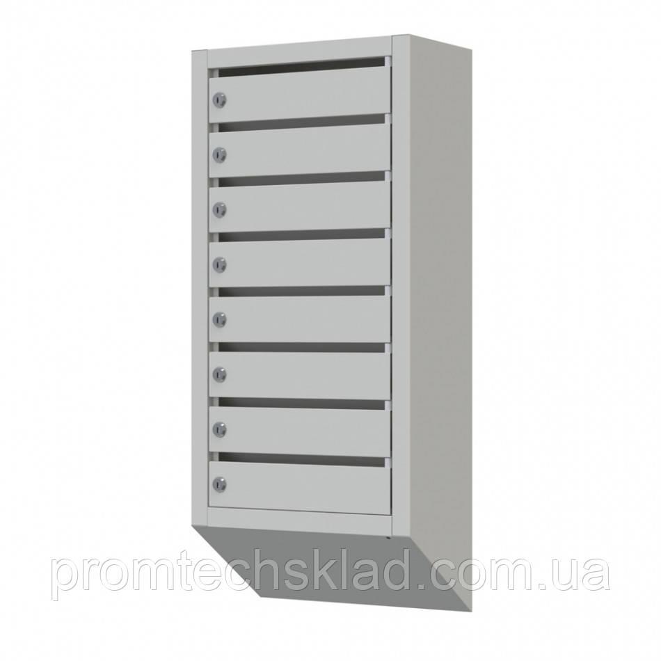 Ящик почтовый ПЯ-09 на 9 ячеек