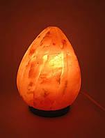 """Соляная лампа (SL-11) """"Пламя"""" (d-12,h-17 см)(8 шт ящ.)(Гималайская соль)"""