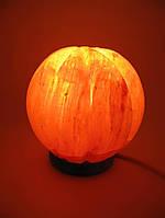"""Соляная лампа (SL-33) """"Апельсин"""" (d-14,h-15 см)(8 шт ящ.)(Гималайская соль)"""