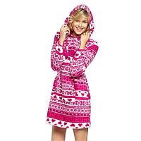 Домашний наряд (платье-худи)