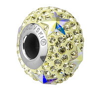 Шармы Пандора от Swarovski Elements 81712 Crystal AB, Jonquil (упаковка 12 шт)