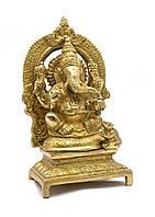 Ганеша бронза (18,5х9,5х7 см) (Ganesh Ring Big CH)