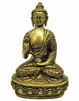 "Будда в позе лотоса бронза (26,5х15х9,5 см) (BUDDHA LIFE STORY 12"" BT)"