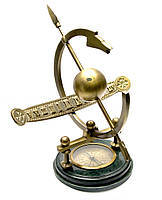 Солнечные часы с компасом (34х36х35 см)(ARMILLIARY SUNDIAL/COMPASS)