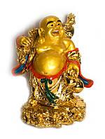 Хотей с посохом золотой (40 см)