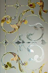 Декоративное стекло в интерьере.