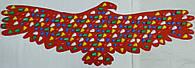 """Коврик массажный для профилактики и лечения плоскостопия """"Птица"""", фото 1"""