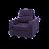 """Кресло """"Барон"""" в ткани «Savana Violet»  (раскладное)"""