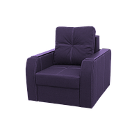"""Крісло """"Барон"""" в тканини «Savana Violet» (розкладне)"""