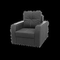 """Крісло """"Барон"""" в тканини """"Savana DK Grey 11"""" (розкладне)"""