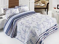 Покрывало с наволочками Eponj Home Capa голубое 200*220