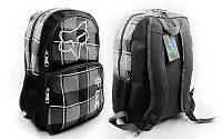 Рюкзак  для міста , спортивный, городской FOX  22l (black-grey), фото 1