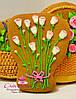 Подарок на 8 марта - расписной медовый имбирный пряник
