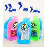 Жидкость для мытья окон Cif Windows spray 1л