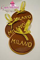 Лучший  Корпоративный подарок на 8 марта-  медовый имбирный пряник  с логотипом компании