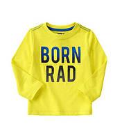 "Детский реглан ""Born Rad"" Crazy8"